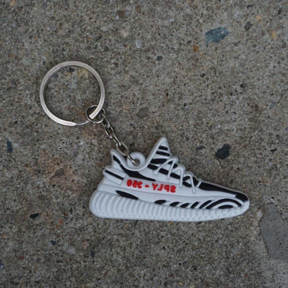 01a354f7cd10 adidas Other - Adidas Yeezy Boost 350 V2 Zebra Shoe Keychain
